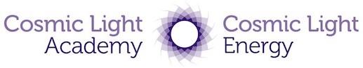 Cosmic Light Energy Logo